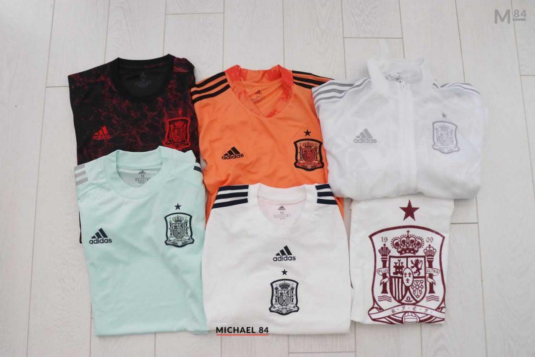 Adidas Spain 2021 Clothing: Pre Match Jersey, Training Shirt, Anthem Jacket & More