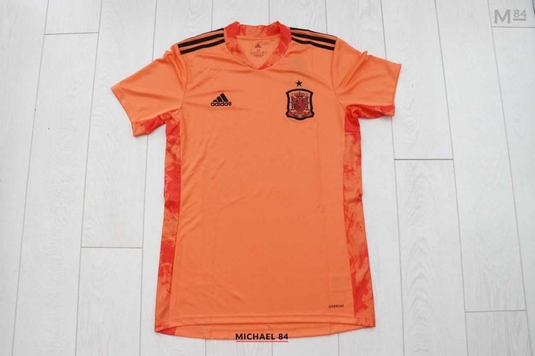 Adidas Spain Orange Goalkeeper Shirt For 2021