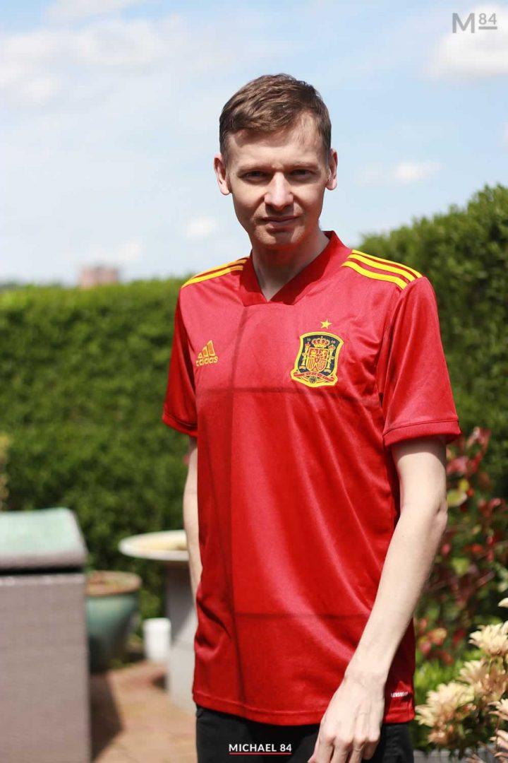 Spain Home Shirt 2021 By Michael 84