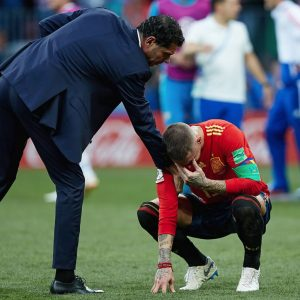 Spain out of the World Cup 2018, losing on penalties to Russia 4-3