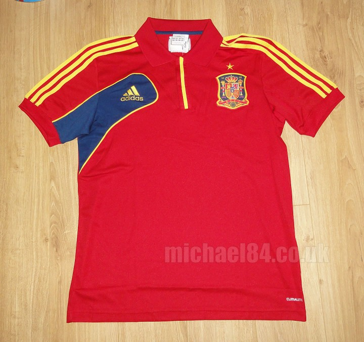 Spain 2012 Jacket Polo Shirt Captain 39 S Armband