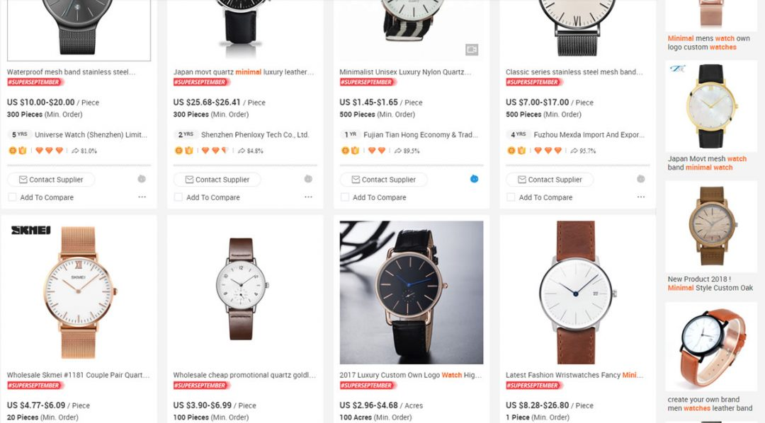 Get Your Watches Made In China via Ali Baba Cheap To Start Your Brand