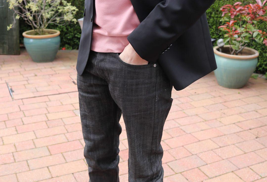 Closeup of APC Jeans