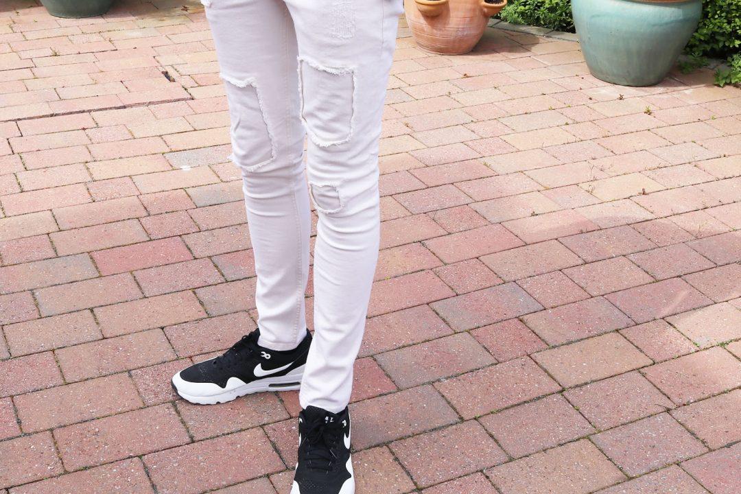 40d4541210d Style Of The Week - Cream Denim & Adidas Tee | Michael 84