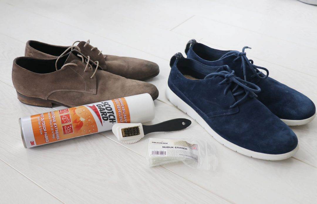 Cleaning Products To Clean And Protect Suede Shoes