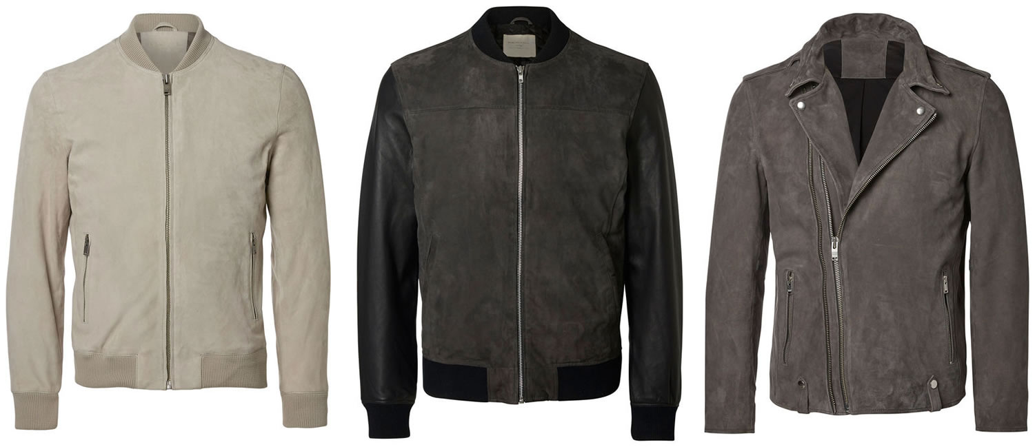 Selected Homme Suede Jackets For Spring