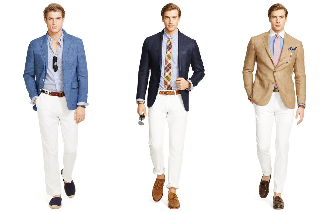 What to wear to a summer wedding men 39 s fashion advice for Dress for a summer wedding
