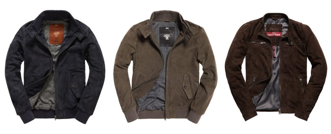 Superdry Suede Jackets AW16