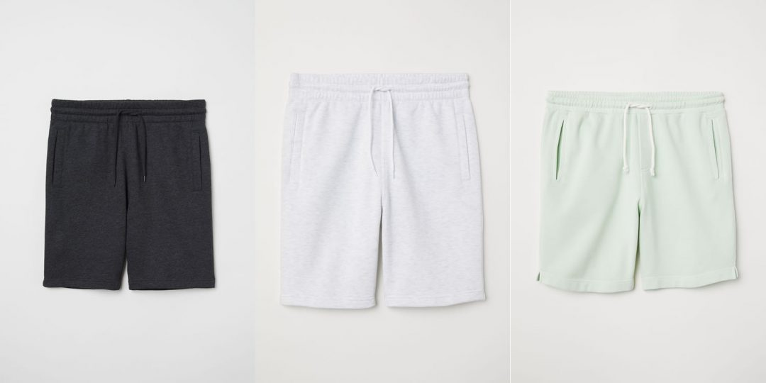 Sweat Shorts From H&M For 2018