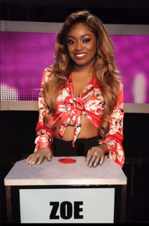Zoe From Take Me Out Series 10