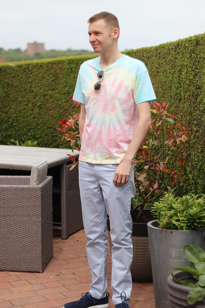 How I Style my Tie Dye T Shirt - Michael 84 Outfit Style