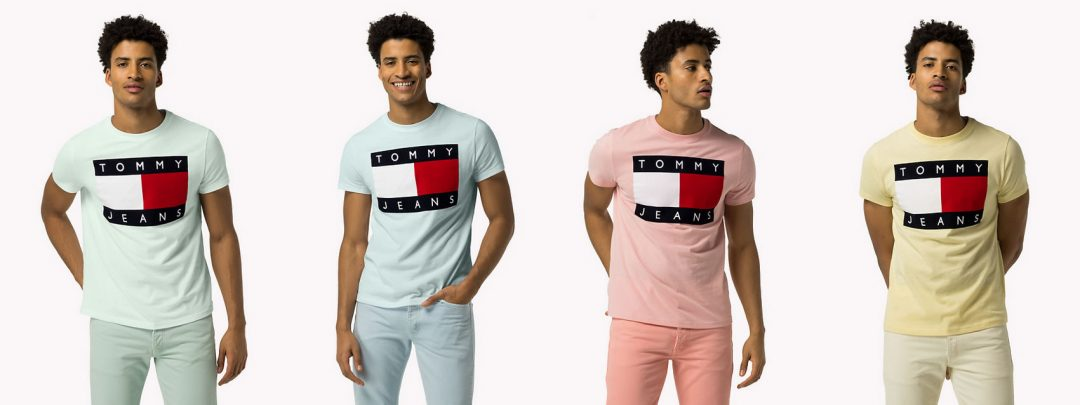 Tommy Hilfiger Summer T-shirts colours