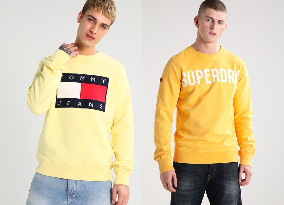 Tommy Hilfiger and Superdry
