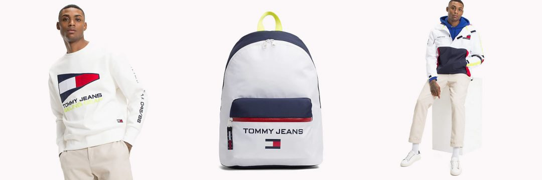 Tommy Jeans Sweatshirt jacket and bag