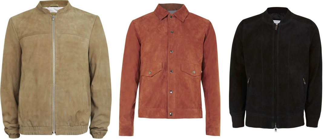 High Street Brands Suede Jackets This Season
