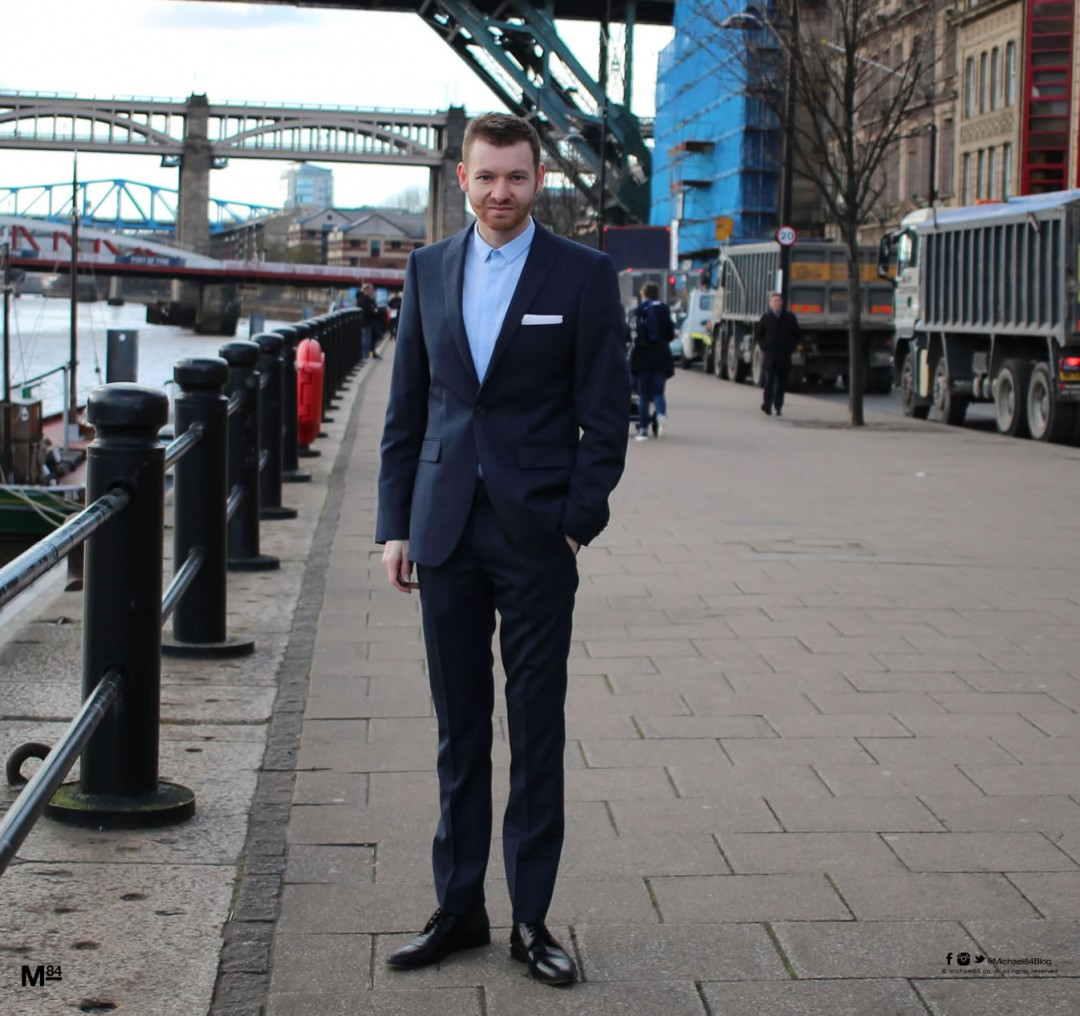 Michael 84 for Topman Great Suits, Great Britain Campaign