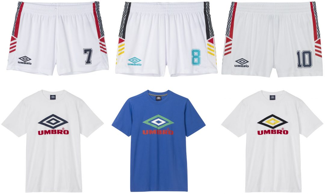 Umbro Summer Projects T Shirts And Shorts