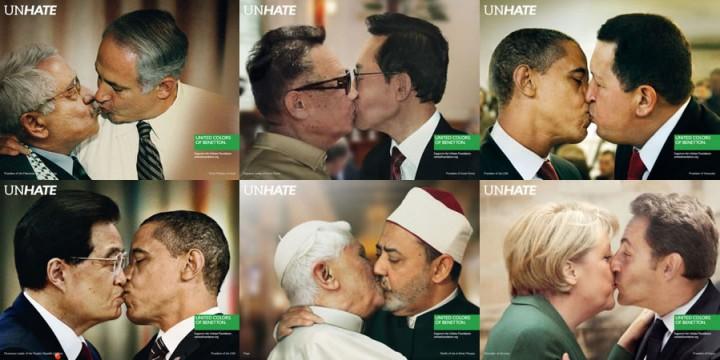 Publicidad Benetton Unhate
