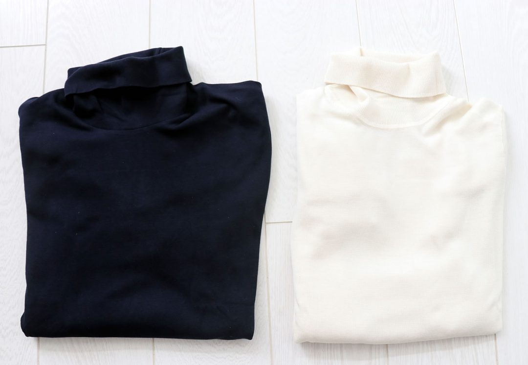 Uniqlo roll neck merino wool jumper review
