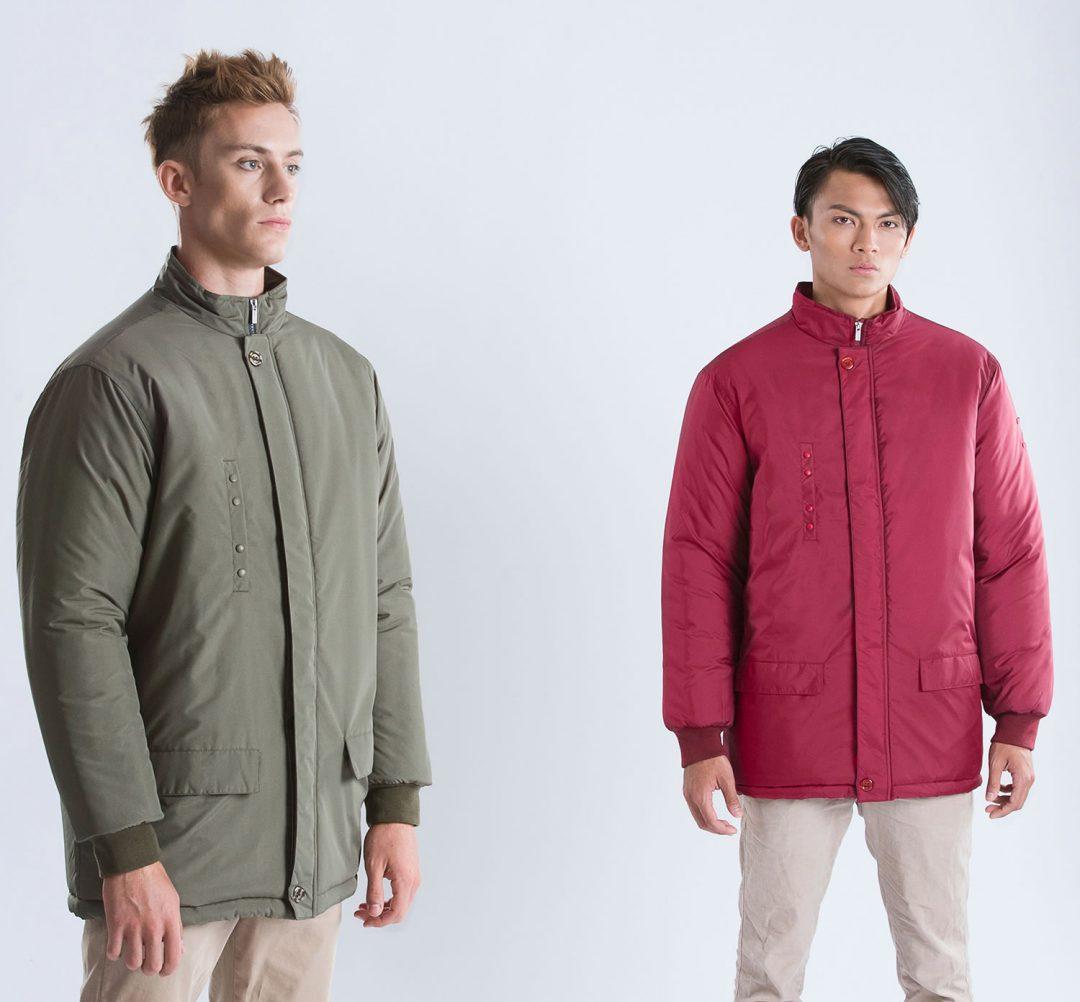 Waterproof Jacket With Heavy Padding