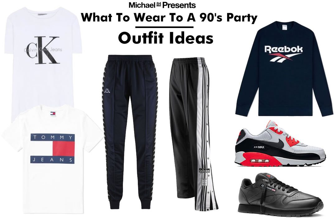 Wonderbaarlijk What To Wear To A 90's Party - Men's Outfit Ideas | Michael 84 EE-05