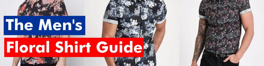 Men's Printed Floral Shirts