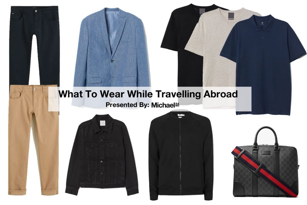 What to wear while travelling - Be the stylish man at the airport