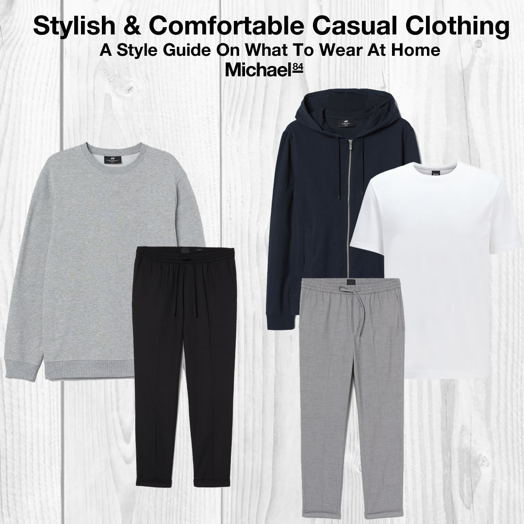 What To Wear At Home - Comfortable Casual Clothing That's Stylish