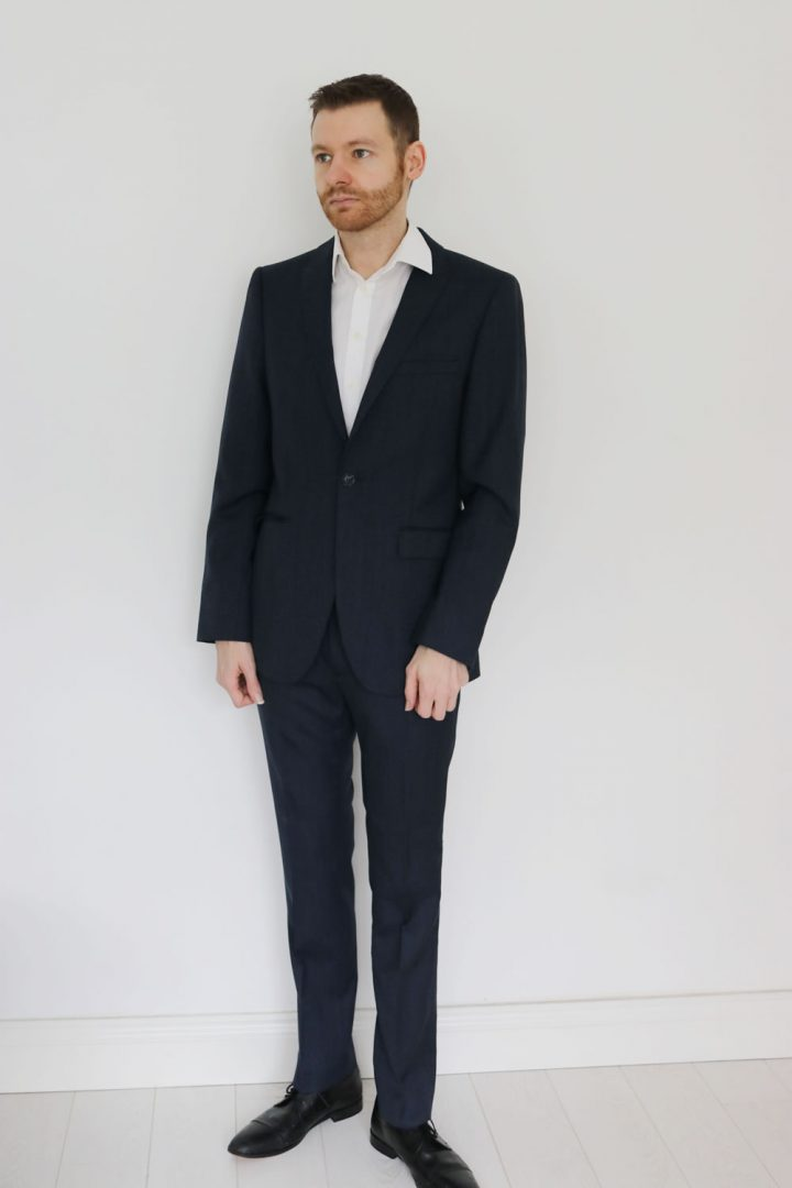 Suit up - wear a white shirt with a suit