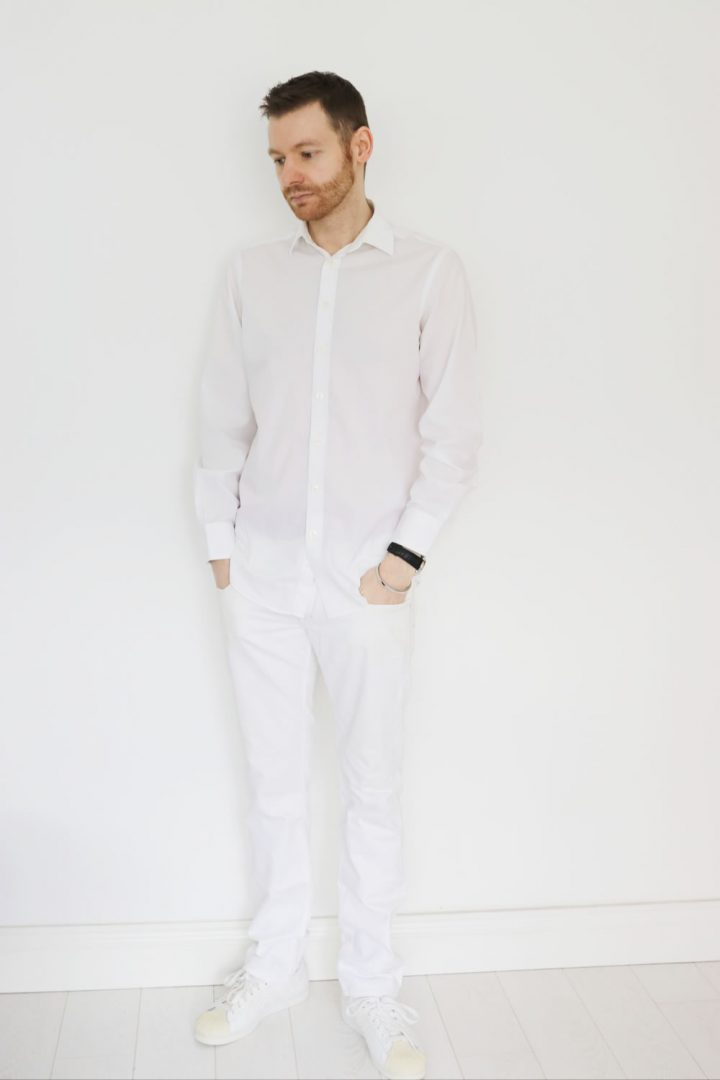 All white - for summer and a white party