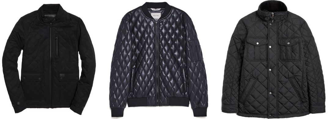 More quilted jackets for Winter