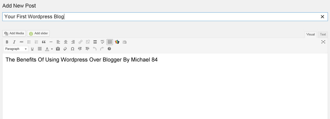 Wordpress advantages over Blogger